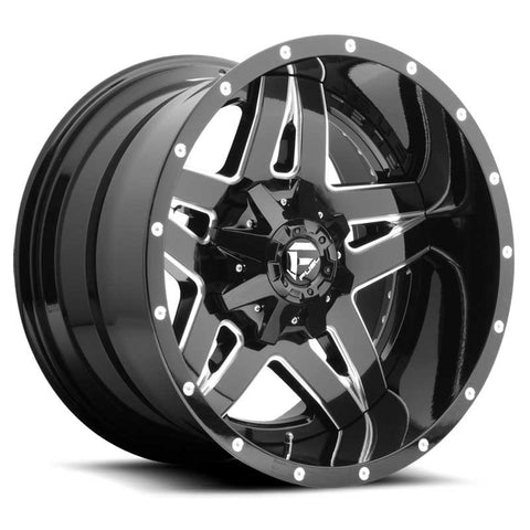 Fuel Off-Road Full Blown Wheel - 2-Pc. Black & Milled
