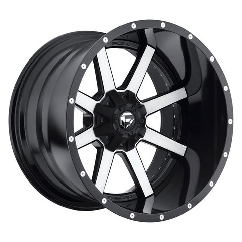 Fuel Off-Road Maverick Wheel - 2-Pc. Black & Machined