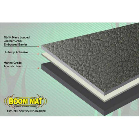 DEI Boom Mat Leather Look Sound Barrier