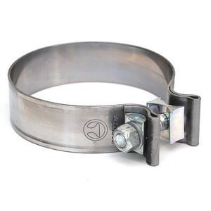 ACCUSEAL POLISHED STAINLESS STEEL BAND CLAMPS