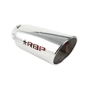 "RBP 48003R-7 RX-7 SERIES POLISHED 8"" EXHAUST TIP"