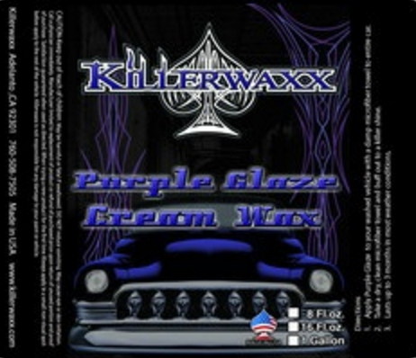 16.oz KILLERWAXX PURPLE GLAZE CREAM WAX