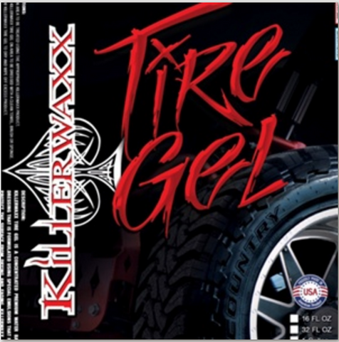 16oz KILLERWAXX TIRE GEL
