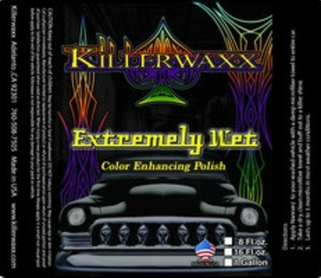 16.oz KILLERWAXX EXTREMELY WET COLOR ENHANCING POLISH
