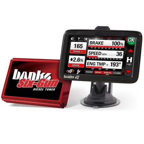 Banks Power Six-Gun Diesel Tuner w/ iQ-Dashboard PC