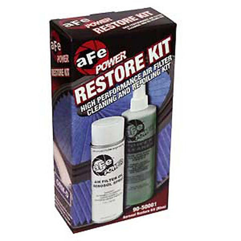 AFE 90-50001 Air Filter Restore Kit - Aerosol (Blue) - 1