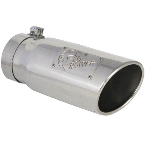 "AFE 49T40501-P12 5"" Polished Exhaust Tip For 4"" Exhaust Systems"
