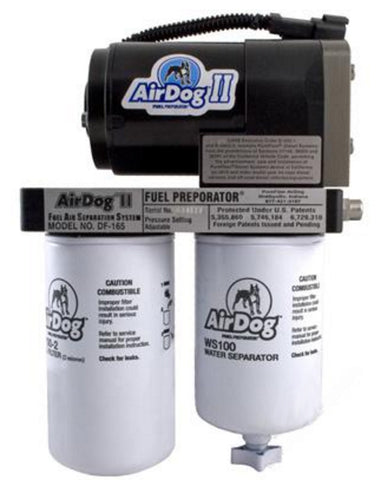 AIRDOG II A5SABC110 DF-165 AIR/FUEL SEPARATION SYSTEM