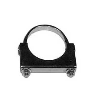 "AP Exhaust 9504 5"" Zinc Plated Flat Band U-Bolt Clamp"