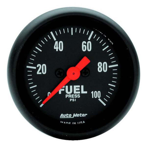 Auto Meter Z-Series Fuel Pressure Gauge Kit 2663 - 1