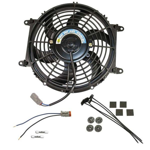 "BD-Power 1030607 Universal Transmission Cooler Electric Fan, 10"" Diameter"