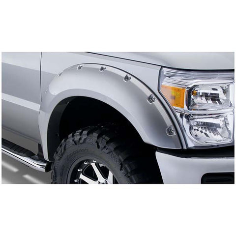 Bushwacker 20931-XX Pocket Style Color Matched Fender Flare Set - 1