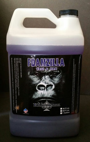 1 Gallon KILLERWAXX FOAMZILLA CAR SOAP