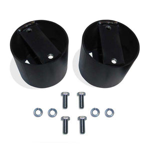"Pacbrake HP10154 4"" AMP Air Spring Spacer Set"