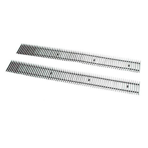 Paramount Restyling 8mm Horizontal Billet Aluminum Bumper Grille
