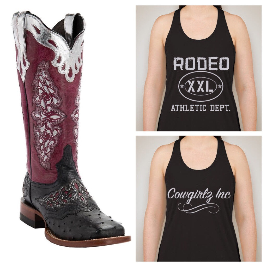 Rodeo XXL Athletic Dept Tank Top