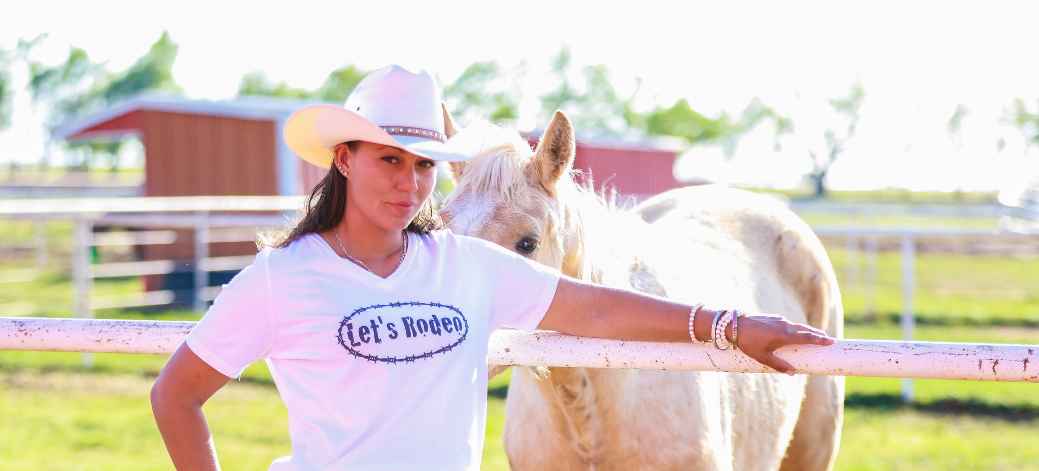 Let's Rodeo Short Sleeve T-Shirt