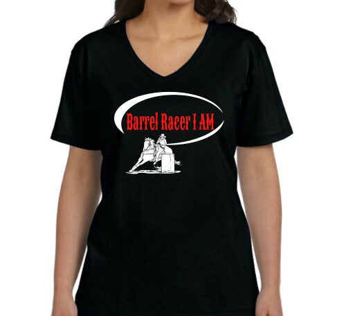 Barrel Racer I Am Short Sleeve T-Shirt