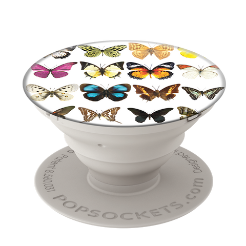 Popsockets Expanding Stand & Grip for Smartphones / Tablets - Butterfly Bell Jar