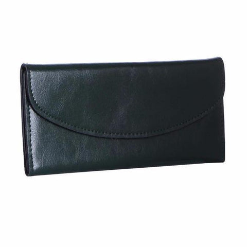 Dazz Calf Leather Simplicity Wallet - Green