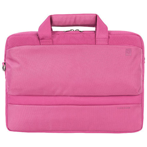"Tucano Dritta X 13""/14"" Laptop Briefcase Bag - Fuscia - oribags2 - 1"