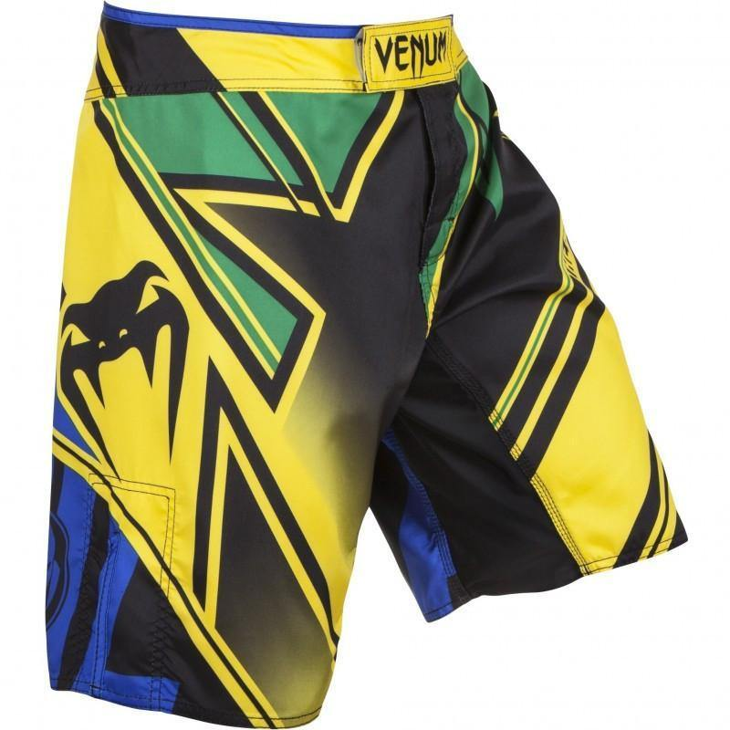 "VENUM ""WAND'S CONFLICT"" FIGHTSHORTS - YELLOW/BLUE/GREEN - MMAoutfit - 1"