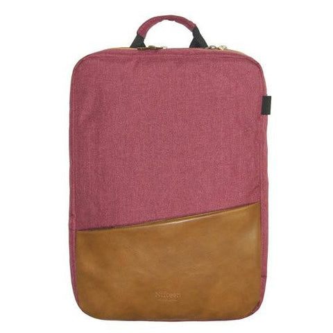 Nifteen Canvas Dual backpack for 15˝ Laptop - Red