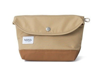 Hellolulu Como Accessories Pouch - Camel - oribags2 - 1