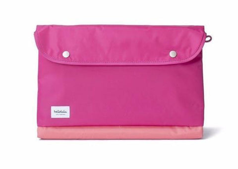 "Hellolulu Tess 15"" Slim Laptop Sleeve - Red - oribags2 - 1"