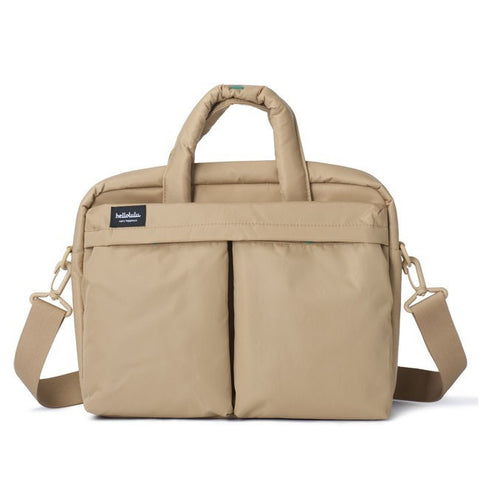 "Hellolulu Mia 13"" Laptop Carrier - Khaki - oribags2 - 1"