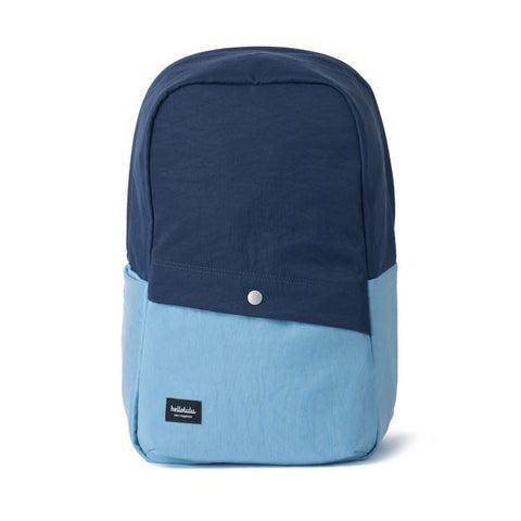 Hellolulu Tully 2 Tones Backpack - Navy - oribags2 - 1