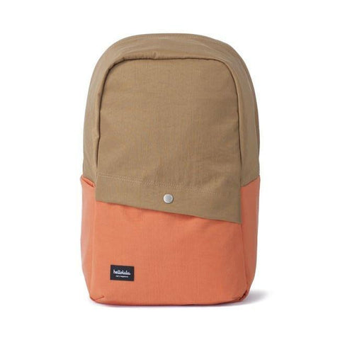 Hellolulu Tully 2 Tones Backpack - Khaki - oribags2