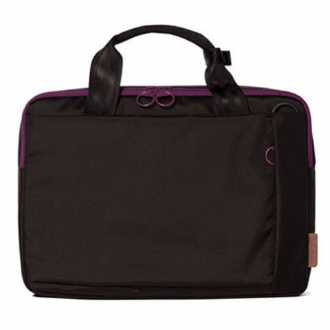 "Hellolulu Milo 13"" Nylon Laptop Case- Black - oribags2"