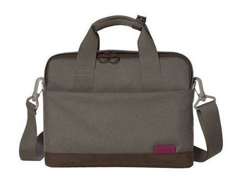 "Hellolulu Jaime 13"" Nylon Netbook Case - Cement Grey - oribags2 - 1"