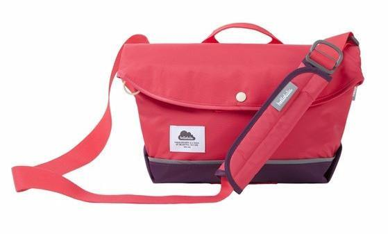 "Hellolulu Hayden Nylon All Day Messenger Bag 13"" -  Wild Strawberry - oribags2 - 1"