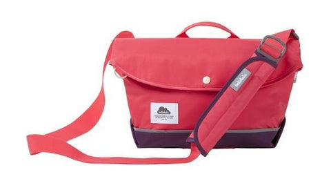 Hellolulu Harper Nylon iPad All Day Messanger Bag - Wild Strawberry - oribags2 - 1
