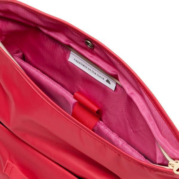 "Hellolulu Hayden Nylon All Day Messenger Bag 13"" -  Wild Strawberry - oribags2 - 3"