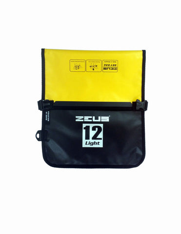Zeus Dry Bag Flat 12L - Black/Yellow - oribags2 - 1