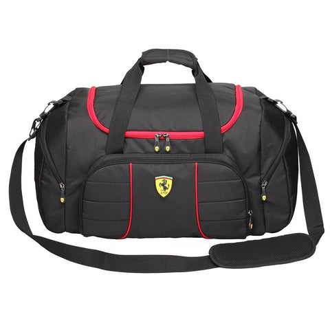 Ferrari Overnight Bag - Black - oribags2 - 1