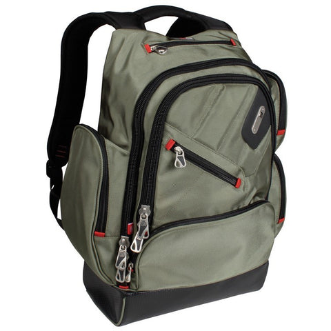 Ful Refugee Laptop Backpack - Military Green - oribags2 - 1