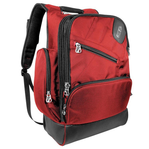 Ful Refugee Laptop Backpack - Red - oribags2 - 1