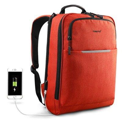 "Tigernu Anti-Theft 14"" Laptop Backpack 3305 - Orange"