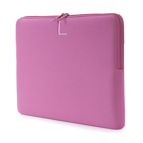 "Tucano Second Skin Colore Laptop Sleeve 14"" - Pink - oribags2 - 1"