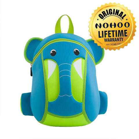 Nohoo Kids Backpack Elephant Trunk Design - Blue