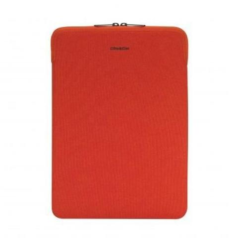 Cote&Ciel Zippered Sleeve Diamond Grip for Macbook 11'' - Scarlet Fever - oribags2 - 1