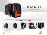 Bagman S02-256LAP-05 Laptop Backpack - Orange