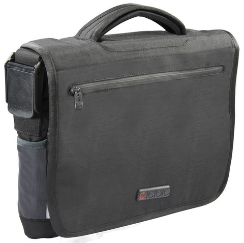 "ECBC Poseidon 13"" Laptop Messenger Bag - Black - oribags2 - 1"
