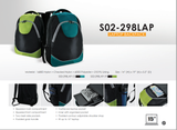 (Clearance) Bagman S02-298LAP-13 Laptop Backpack - Turquoise