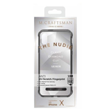 M. Craftsman Nudie Diamond Case for iPhone X - Black