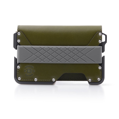 Dango Products D01 Dapper Bifold Wallet - Moss Green / Slate Grey